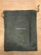 """Tom Ford Gray Faux Suede Protective Wallet Cardholder Storage Dust Cover 7"""" X 8"""""""
