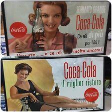 Coca Cola . Quadro Targa Il Miglior Ristoro Anni 60
