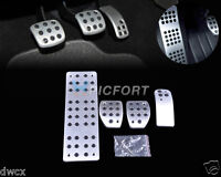 Sport Fuel Brake Foot Rest MT Pedals Pads fit PEUGEOT 307 408 C-Quatre Hatchback
