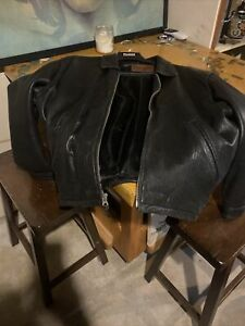 Mens Leather Jacket Size XL
