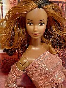 1980 Golden Dream Christie Barbie Doll face AA Black Vintage Mattel ⭐️ HTF