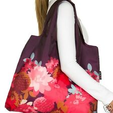 Bloom Range Flowers Envirosax Eco Reusable Foldaway roll up Floral Shopping Bag
