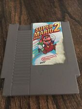 Super Mario Bros 2 Original Nintendo NES Fun Game Cart NE3