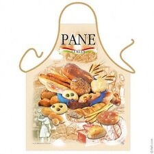Pane Italian bread kitchen apron Italian food cooking chef gifts Polyester ITATI