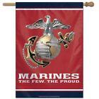 "Marines 28"" X 40"" Wincraft Vertical Flag-NEW"