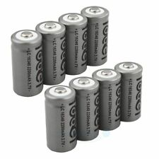 8pcs 16340 CR123A Ultrafire 3.7V 2200mAh Rechargeable Li-Ion Battery Batteries