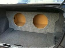 For 06-12 BMW 3 Series E90 E92 - Custom Sub Enclosure Subwoofer Box - 2 10""