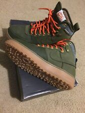 Mens Size 9 Nike Air Force 1 Duckboot  Dark Loden