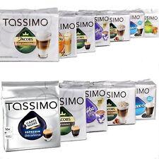 MEGA VALUE Tassimo Assortment Pack Containing 24 Factory Sealed Coffee tea choco