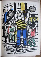 (ARAGON) : MES VOYAGES lithographies de Fernand LEGER, in folio E. O. de 1960