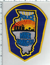Minier Armington Police (Illinois) Shoulder Patch new from the 1980's