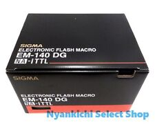 Sigma Electronic MACRO Ring Flash Light EM-140 DG for Canon SLR Cameras New