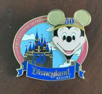 Happiest Balloon on Earth Tour Pin Mickey Mouse Disneyland's 50th Anniversary