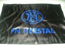 FN Handgun Flag Polyester Black FN Flag Deco Mancave 2nd carry gun HERSTAL