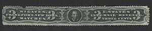 Bigjake: RO89b, 3 cent William Gates, Match and Medicine