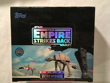 STAR WARS Empire Strikes Back Cards TOPPS WIDEVISION sealed box  24 ct  1994