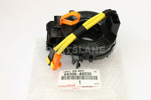 Toyota OEM Genuine Clock Spring Spiral Cable Sub-Assy 84306-48030