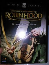 The Adventures of Robin Hood: The Complete First Season 3 Dvd Set Tv Classics