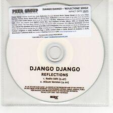 (GG447) Django Django, Reflections - 2015 DJ CD