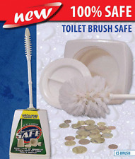 Toilet Brush safe can, Diversion safe, bathroom safe, Stash keys and valuables