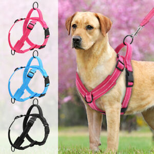 Reflective No Pull Dog Harness Soft Mesh Padded Strap Harness Vest for Labrador