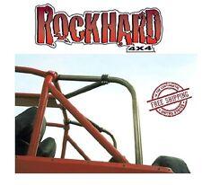 Rock Hard 4X4 Family Style Rear Side & Overhead Angle Bars 87-91 Jeep Wrangler