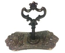 Chambers Skeleton Key in Door Plate Hook Cast Iron Wall Mount New Rustic Vintage
