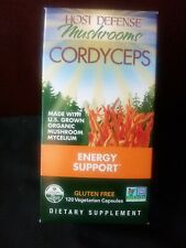 Fungi Perfecti Host Defense Cordyceps 120 Veggie Caps, Non-GMO, Expires 12/2021+