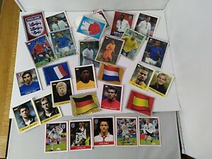 Merlin England Euro 2004 Football Sticker Bundle x172 Stickers-No Duplicates