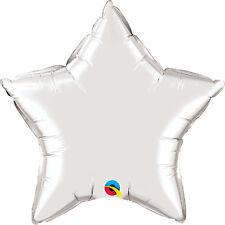 """Feuille Plate en Aluminium 36 """"ronde - Qualatex inch Round Plain FOIL Balloon"""