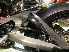 Triumph 675 Daytona Carbon Fibre Race swing arm Protectors upto 2012