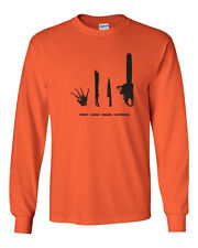 033 Horror Movie Villain Long Sleeve Shirt scary halloween costume nightmare new