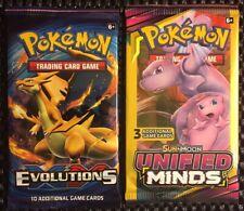 1x Pokemon⚡️ Evolutions 💎 Booster Pack + BONUS 3 CARD PACK (Random) *READ DESC*