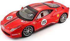 Ferrari 458 Challenge #5 Rot 1 24 Bburago