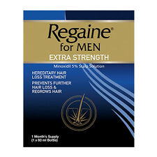 Regaine for Men Solutions Extra-Strength 1 month's supply of 60ml (Regaine001)