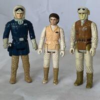 Vintage Star Wars Empire Strikes Back Hoth Figure Lot