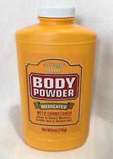 Body Powder,New Medicated with Cornstarch 6-oz, Talc Free Generic for Gold Bond