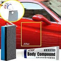 Grinding Car Body Compound Paste+Sponge Set Remove Scratch Paint Auto-Polis S3O9