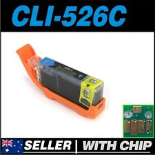 1x Cyan Ink for CANON CLI-526C for iP4850 iP4950 iX6550 MG5150 MG5250 MG5350