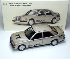 Mercedes-Benz 190E 190 E 2.3-16 W201 SENNA Nürburgring 1984 AUTOart 88432 1:18