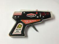 Vintage Tin Litho Toy LION MF 888 Sparkling Pistol Flint Inlet Toy Gun