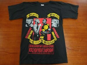 Michael Moorer VS Evander Holyfield Boxing T Shirt Large