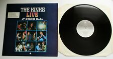 The Kinks - Live At Kelvin Hall UK 1980 PYE Reissue LP