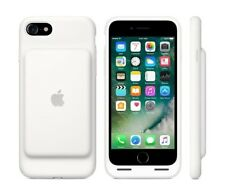 Apple Smart Battery Elastomer Silicone Back Cover Case for iPhone 8 & 7 - White
