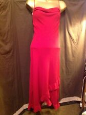 OPULENT Sexy LADY IN RED, DRESS, SIZE 12, By WHISPER, NEW WITH TAGS, FULLY LINED