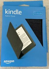 AMAZON ~ KINDLE FABRIC COVER ~ FITS 10TH GENERATION ~ CHARCOAL BLACK ~ 2019