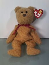 Extremely Rare~Ty Beanie Baby Curly Bear Retired~ Many Errors and Rarities