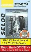 Johnson Evinrude 2-70 HP Service Repair Shop Manual 1990-2001