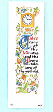 Book mark Timekeeping Busy Life Time Saver Medieval Clock Birthday Gift Him Her