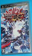 Phantasy Star Portable 2 Infinity - Sony PSP - JAP Japan